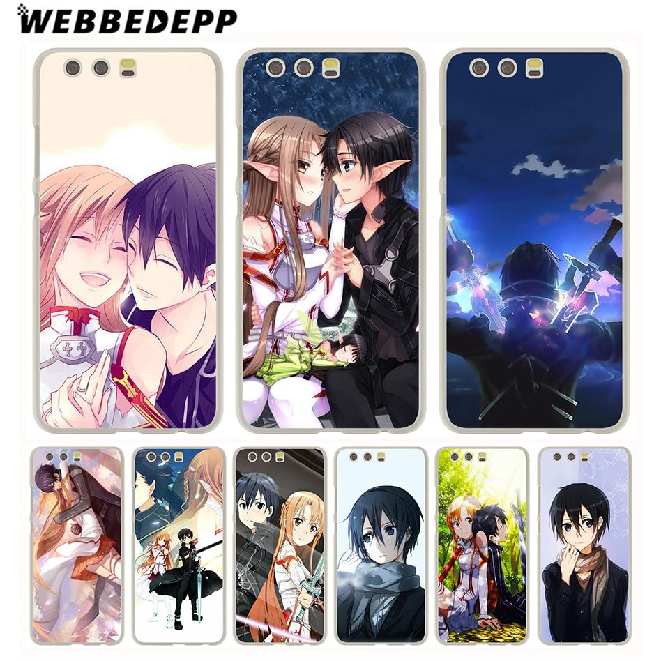 Inventive Webbedepp Sword Art Online Sao Japanese Anime Case For Huawei P20 Pro P Smart 2019 Y7 Y9 2019 P10 P9 Lite 2016 P8 Lite 2015/2017 Phone Bags & Cases