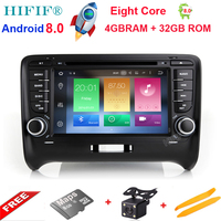 HIFIF Android 8 0 Two Din 7 Inch Car DVD Player For Audi TT 2006 2012