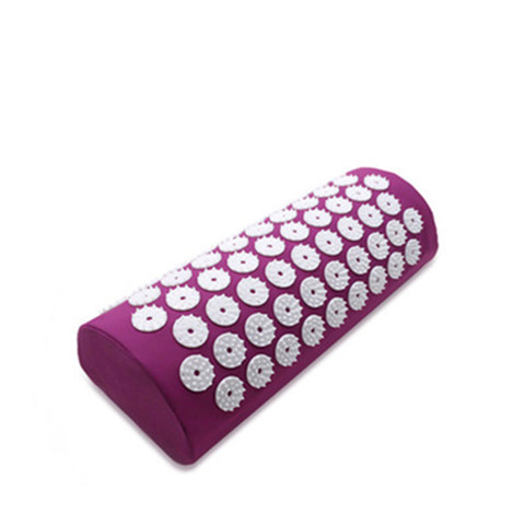 rosa pico massagem relaxamento yoga esteira travesseiro