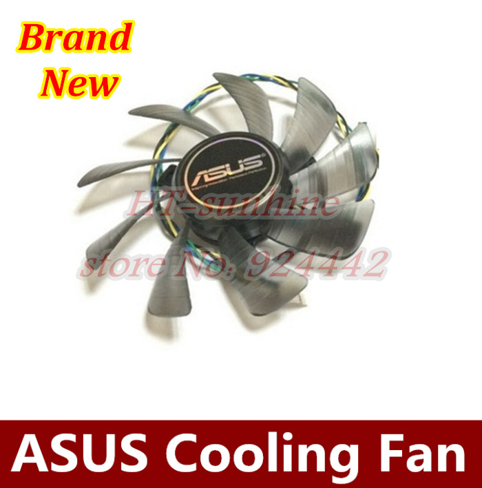 Original 85MM T129215SU 4Pin Cooling Fan Replace For ASUS GTX 460 HD 6790 6870 Gigabyte GTX 1060 Graphics Card Cooler Fans DIY image