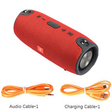 Portable Bluetooth Speaker 20w Wireless Bass Column Waterproof Outdoor Speaker Support TF USB Subwoofer Stereo Loudspeaker TG(China)
