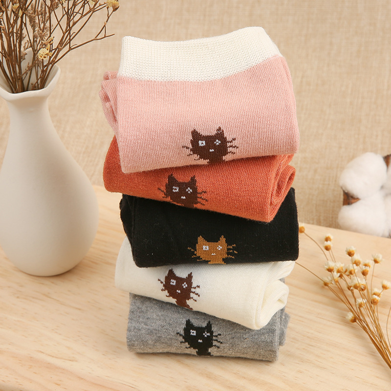 5pcs Cotton Rose Print Womens Socks Retro Embroidery Long Colorful Funny Socks Women Drop Shopping New Socks Extremely Efficient In Preserving Heat Underwear & Sleepwears