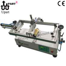 semi automatic single color label coffee cup screen printer