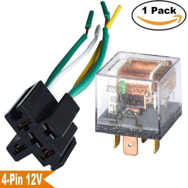 1Set Car Relays 12V 24V 60A SPDT Waterproof Seal Transparent Case 4 Pin 4 Wire Socket_640x640 1set car relays 12v 24v 60a spdt waterproof seal transparent case 4