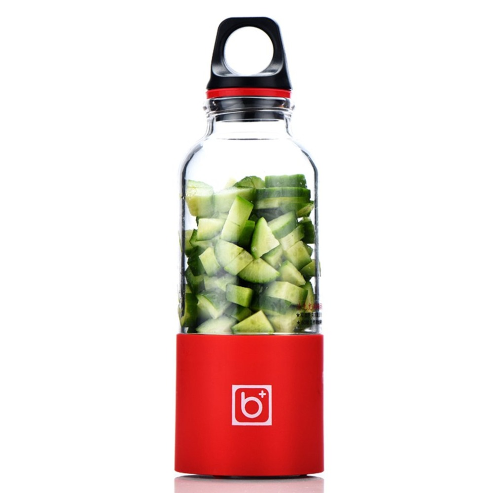 500ML Portable Electric Juicer Cup USB Rechargeable Automatic Vegetables Fruit Juice Maker Cup Juice Extractor Blender Mixer upgrade bingo 500ml portable rechargeable usb electric juicer automatic mixing stirring cup fruit juice cup
