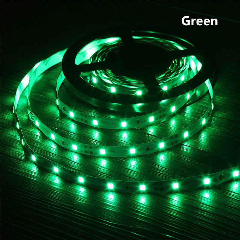 12 V DC Güç LED Şerit ışık RGB 2835 3528 SMD HDTV TV masaüstü bilgisayar Ekran Arka Işık ve Bias aydınlatma 1 M 2 M 3 M 4 M 5 M DEĞIL Su Geçirmez