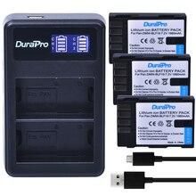 3X DMW-BLF19 DMW BLF19 BLF19 Камера Батарея 1860 мАч + ЖК-дисплей USB Зарядное устройство для Panasonic Lumix DMC-GH3 DMC GH3 GH4 DMC-GH4 Камера