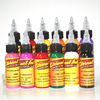 30ml Bottle Tattoo Ink Set Microblading Permanent Makeup Art Pigment 14 PCS Cosmetic Tattoo Paint For