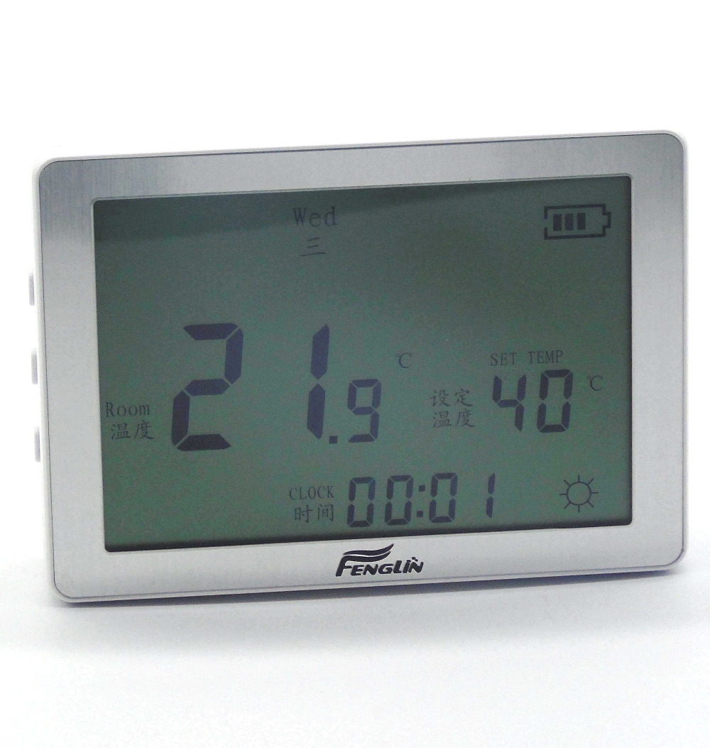 Gas Boiler Programmable 3 Wire Thermostat For Battery