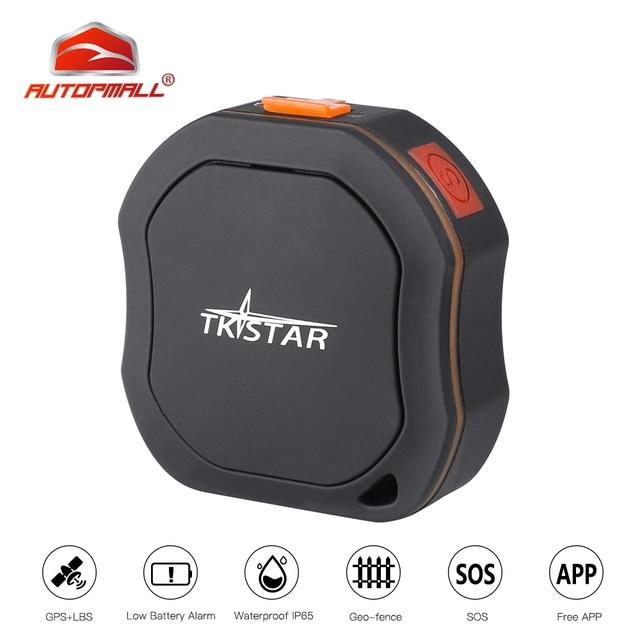 Mini GPS Tracker ส่วนบุคคล Tracker กันน้ำ IP68 LK109 ยาวสแตนด์บาย Real time เด็ก GSM ฟรี Web APP ติดตาม TK1000