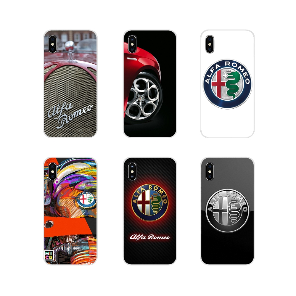 Accessories Phone Cases Covers Alfa Romeo For Apple iPhone X XR XS MAX 4 4S 5 5S 5C SE 6 6S 7 8 Plus ipod touch 5 6