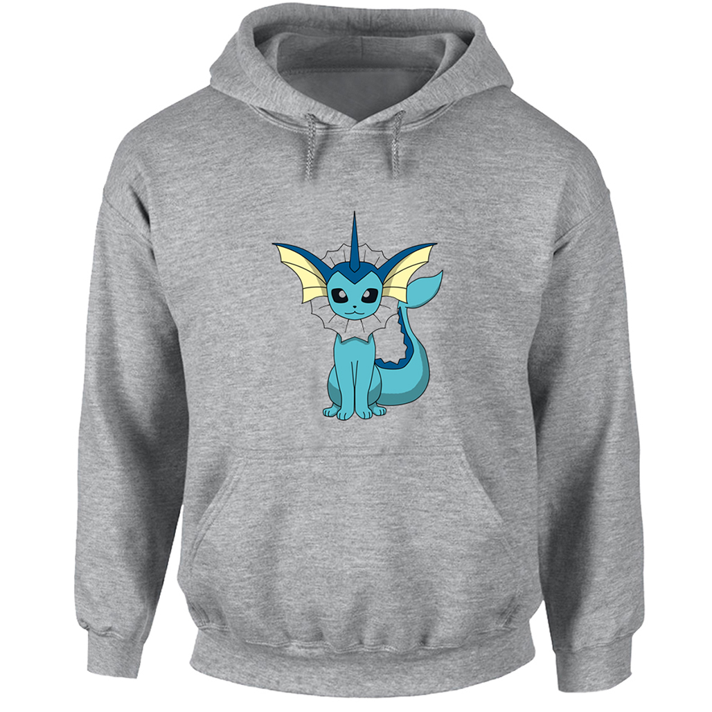 Cute Cartoon Pokemon Vaporeon Funny Hoodie Men Women Boy Girl Casual Harajuku Sweatshirts Multi Color Winter Hooded Jackets