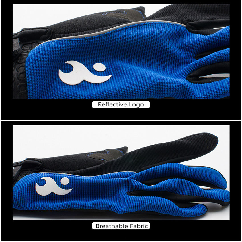 Men & Women Cycling Gloves Full Finger Screen Outdoor Bicycle Gloves - Cycling - Photo 6