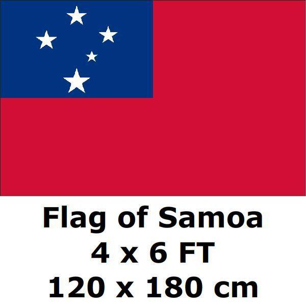 Флаг Самоа 120x180 см polyester полиэстер большие флаги и растяжки Национальный флаг страны баннер