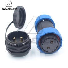 SD28TP-ZM , 28mm 2pin Waterproof Aviation Plug Socket Cable