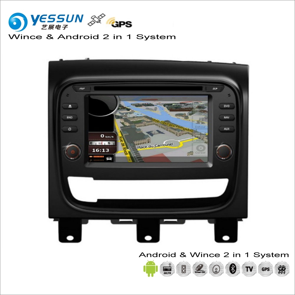 YESSUN For Fiat Strada 2013~2017 - Car Android Multimedia Radio CD DVD Player GPS Navi Navigation Audio Video Stereo S160 System