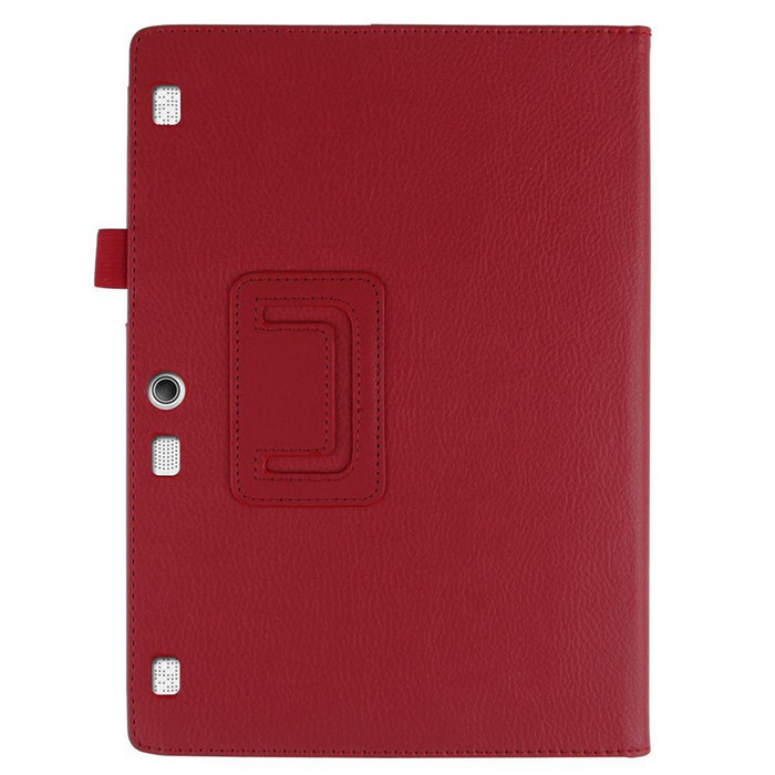 PU Leather Stand Cover Case for Lenovo Tab2 Tab 2 A10 30 A10-30 X30F TB2-X30F X103F 10.1 Tablet + 2Pcs Screen Protector