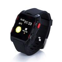 Gps wifi bluetoothスマートウォッチ手首montre接続コネクタアンドロイド腕時計でsimカード抗失われたウェアラブルデバイスインテリジェント老人