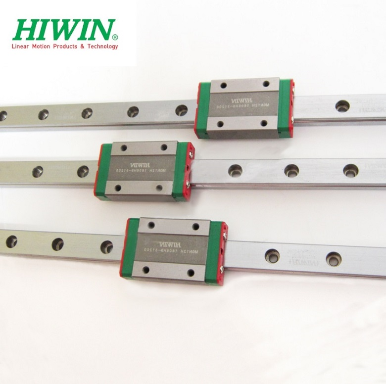 5pcs Hiwin rail MGW12R -L 520mm +5pcs MGW12C blocks with some parts