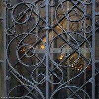 Ferforje çelik cam pencere, metal cam pencere ferforje windowswindow demir pencere ızgara tasarımı hc-w12