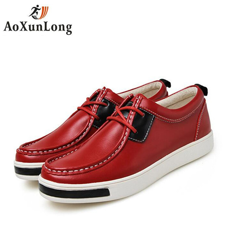 British Style Men's Casual Shoes 2017 Genuine Leather Men's Shoes Oxford Outdoor Men Shoes Fashion Flat Shoes Men Size 39-46 x10 2016 new summer british style men s driving shoes fashion casual shoes flat with low top 39 44 size