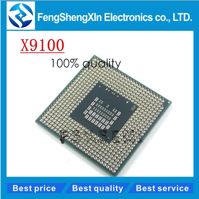 Ordinateur portable cpu processeur d'origine CPU X9100 SLB48 X 9100 SLB48 3.06G/6 M/1066 PM45 GM45 P9700