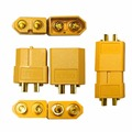 5 pairs rc plug battery XT60 gold plated connectors with male/female jacks for rc toys