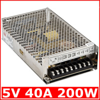 Electrical Equipment Supplies Power Supplies Switching Power Supply S Single Output Series S 200W 5V