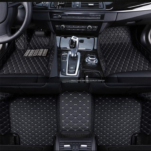 Car Floor Mats Accessories For Honda Crv Cr V Hrv Hr Vezel Accord Civic 2017 2016 2010 2009 2008 07