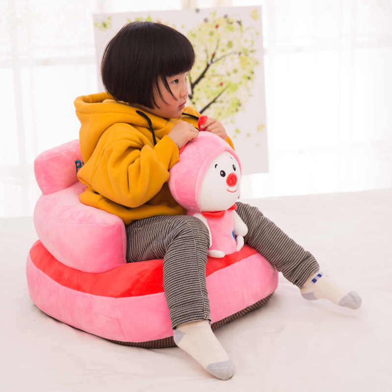 SEMPRE Eu Assentos Sofá Das Crianças Dos Miúdos Do Bebê Crianças Crianças Crianças Brinquedos Do bebê Do saco De Feijão Sem enchimento De ALGODÃO Pp Material Apenas cobrir