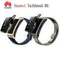 Original Huawei TalkBand B5 Talk Band Bluetooth Smart Bracelet Wearable Sports Wristbands Touch AMOLED Screen Call Earphone Band