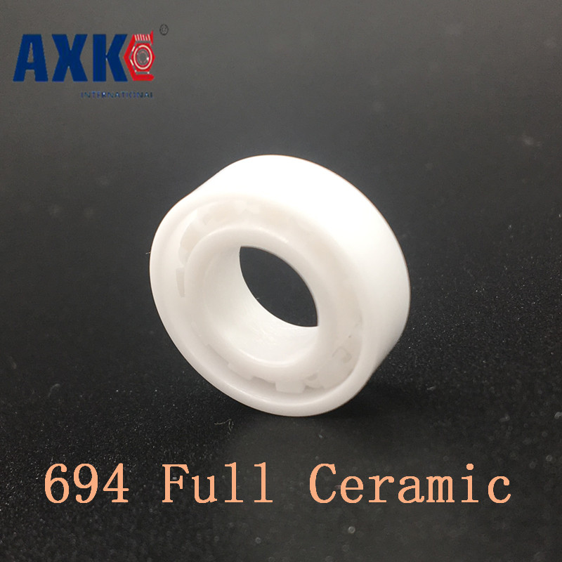 Axk 694 Full Ceramic Bearing ( 1 Pc ) 4*11*4 Mm Zro2 Material 694ce All Zirconia Ceramic 619/4 Ball Bearings