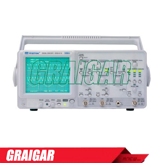 100MHz, Delayed Sweep,Dual Channel Analog Oscilloscope GOS-6112,Free shipping by DHL mos 640ch dual channel analog oscilloscope 40mhz high quality