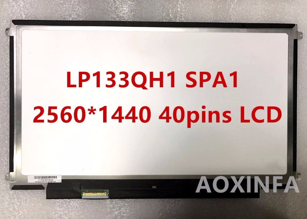 Free Shipping New original LP133QH1 SPA1 2560 * 1440 40pin LCD screen цены онлайн