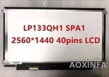 Envío Gratis Nueva original LP133QH1 SPA1 2560*1440 pantalla LCD 40pin