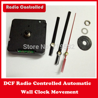 DCF Automatic Radio Controlled Relogio De Parede Movements With Free Metal hands 1 Set Avail In France/Czech/Germany/Spain etc