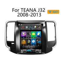 Android 6.0 RAM2GB Tesla style Quad core Android 1024*600 9.7inch Car GPS Navigation for Nissan teana J32 2008 2012
