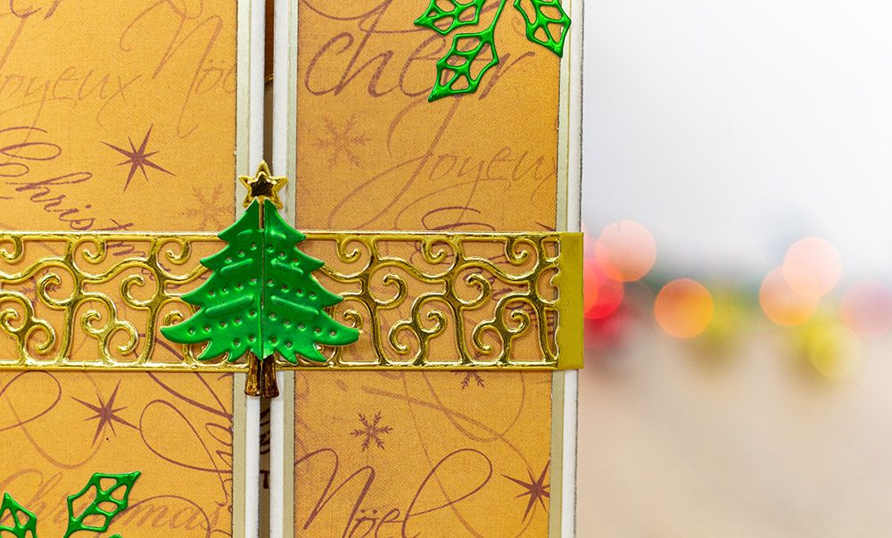 Christmas Tree Snowflake Bell Card Belt Cover Metal Cutting Dies for Scrapbooking DIY Paper Card Making Embossing Craft New 2019 in Cutting Dies from Home Garden