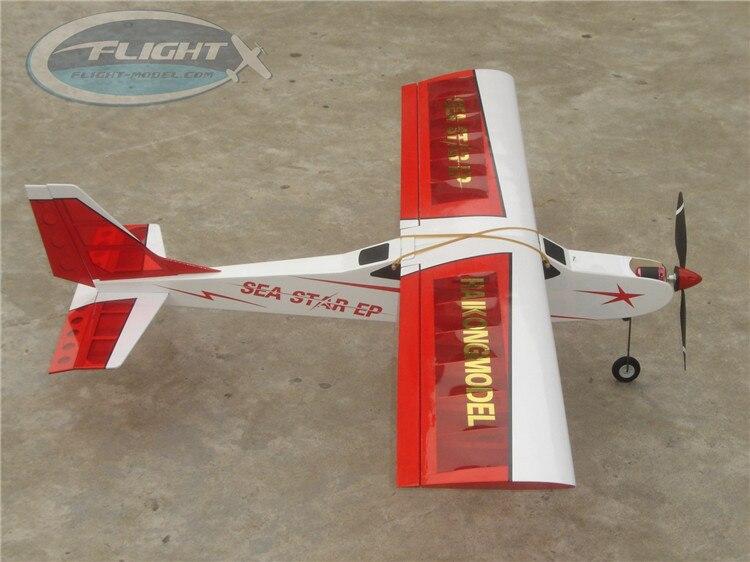 HAIKONG A055 SEA STAR 25E Wood Electric Fixed Wing RC Airplane фильтр sea star каскад hx 004 1101293