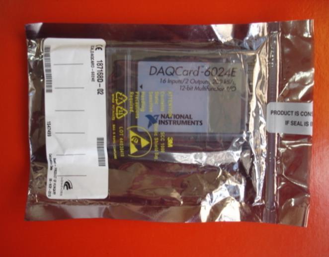100% nouveau dans la boîte américaine NI DAQ carte d'acquisition de données multifonction NI DAQCard-6024E
