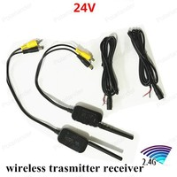 High Quality Car Video Transmitter Receiver Kit 2 4G Wireless Cam Transmitter Receiver For Vehicle Backup