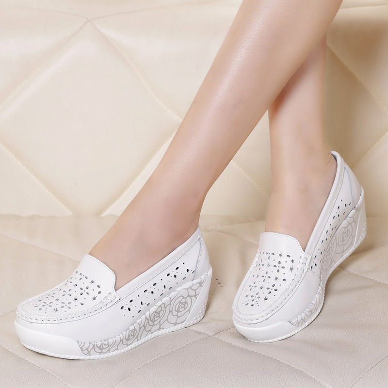 High Quality Flats Casual Slip On Loafers Women Shoes Leather Comfortable Soft Bottom Flat Shoes Vintage Style Women Footwear technology policy and drivers for university industry interactions