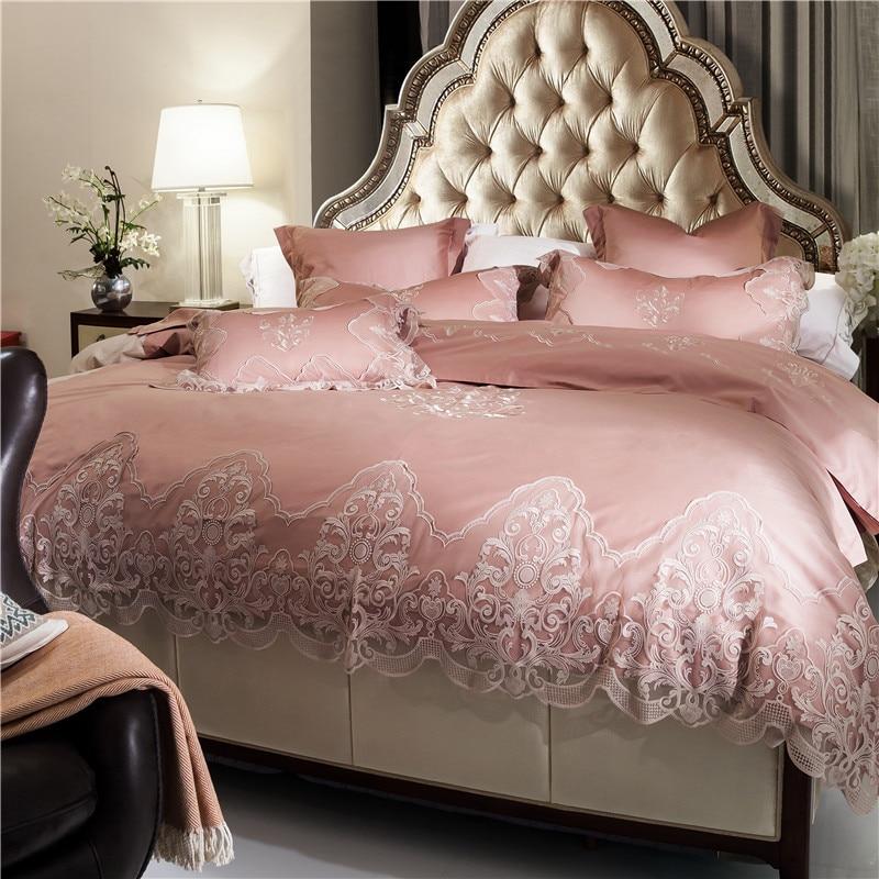 French Long Staple Cotton Bedding Sets Luxury Duvet Cover