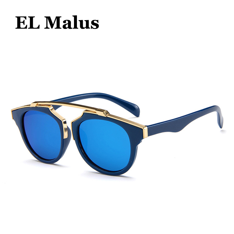 Men's Glasses el Malus Men's Sunglasses polarized Big Square Frame Sunglasses Uv400 Men Male Silver Tan Lens Mirror Retro Brand Designer Sun Glasses Oculos