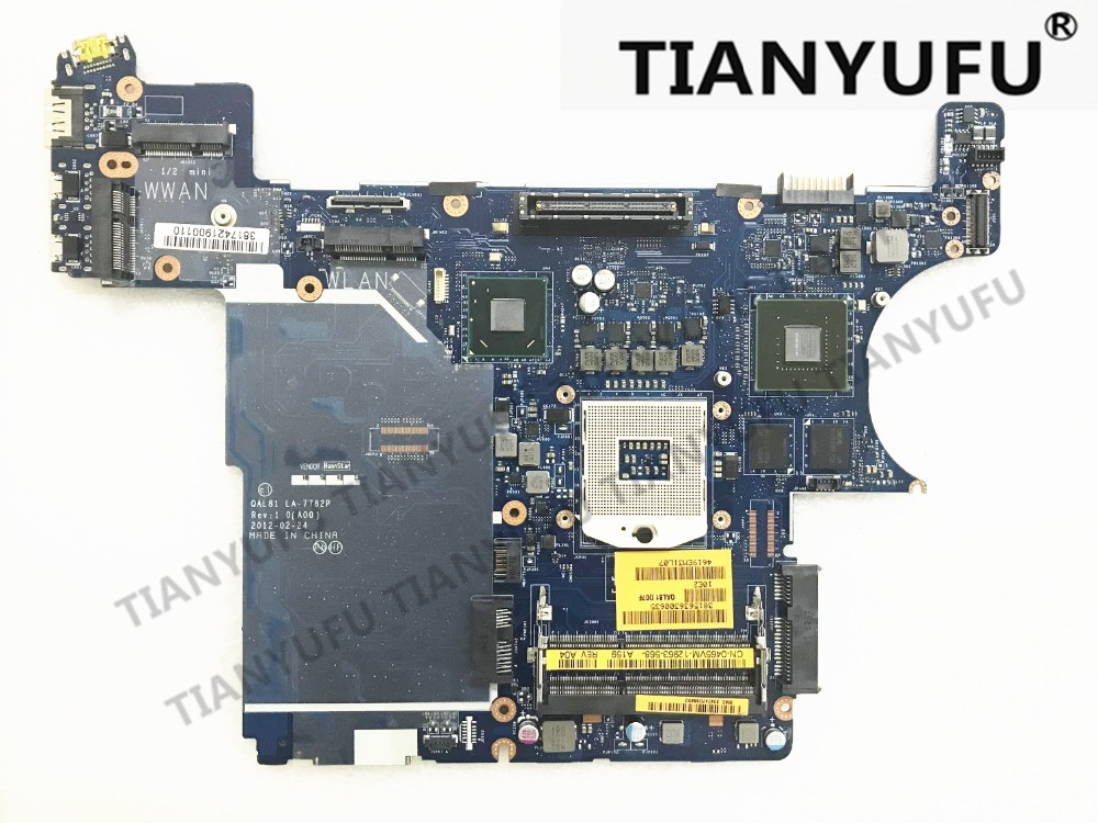 CN 0D8WN3 D8WN3 FOR DELL Latitude E6430 laptop motherboard QAL81 LA 7782P REV 1 0 A00