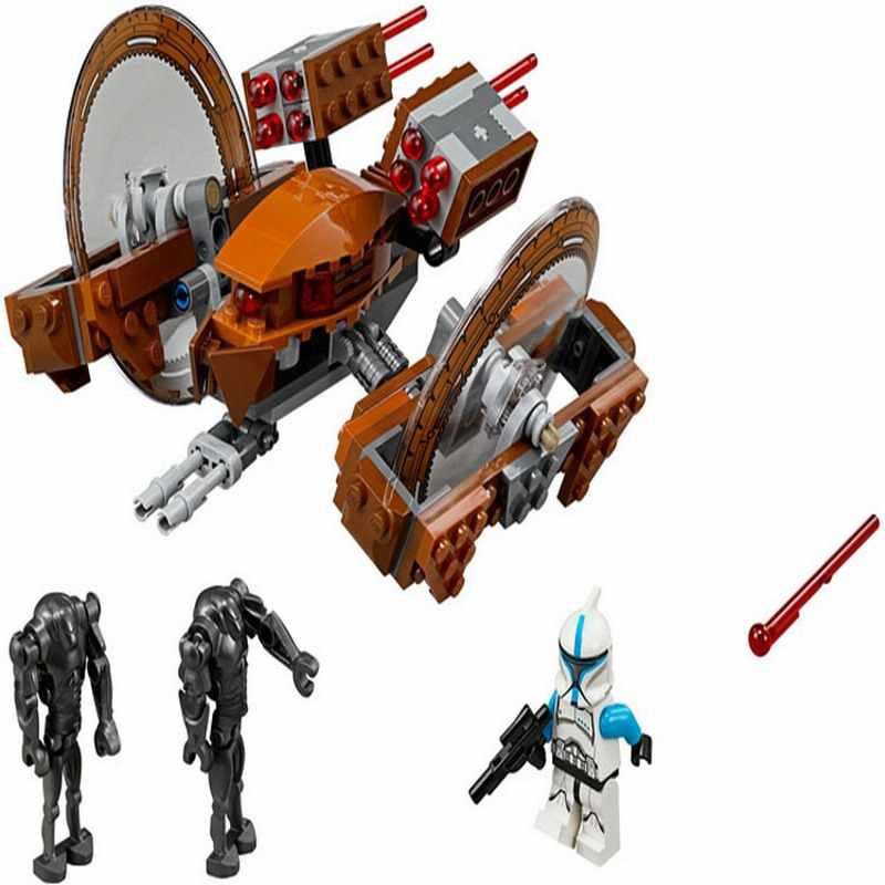 10370 Бела Звездные войны 7 Hailfire-класс Droid Танк модель строительные блоки просветить DIY Фигурки игрушки для детей Рождественский подарок