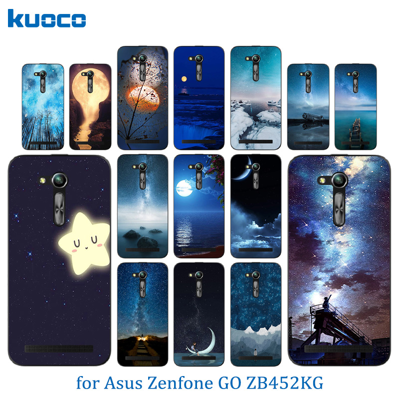 Case For Asus ZB450KL Cases Night Sky Pattern For Asus Zenfone GO 2nd Gen ZB452KG ASUS_X014D ZB450KL 4.5 inch Case Cover