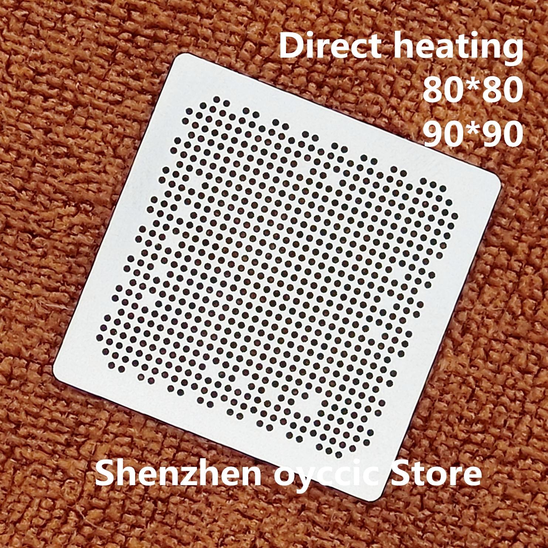 Direct Heating  80*80  90*90  SEMS30-C   SEMS30   BGA  Stencil Template