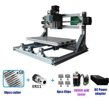 Mini Yönlendirici CNC3018 Lazer Oyma Makinesi Lazer gravür GRBL DIY Hobi Makinesi Ahşap PCB PVC Mini CNC Router Masa 3018