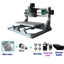 Мини-маршрутизатор CNC3018 лазерный гравировальный станок лазерный гравер GRBL DIY хобби машина для дерева PCB ПВХ Мини станок с ЧПУ 3018